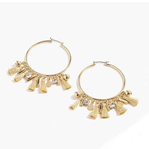NWT J. Crew hoop earrings